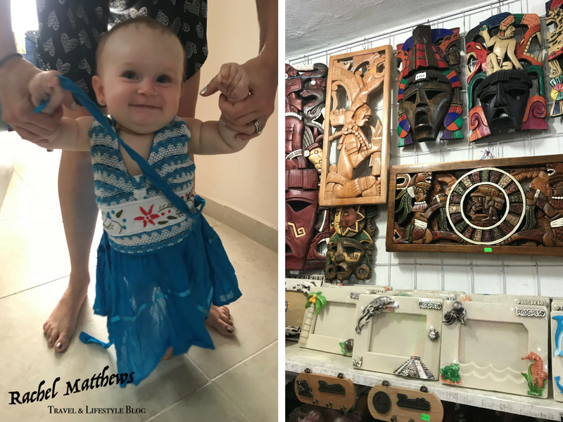 Shopping in Progreso, Mexico. Love the little dresses and Mexican woodwork. www.RachelMatthews.ca