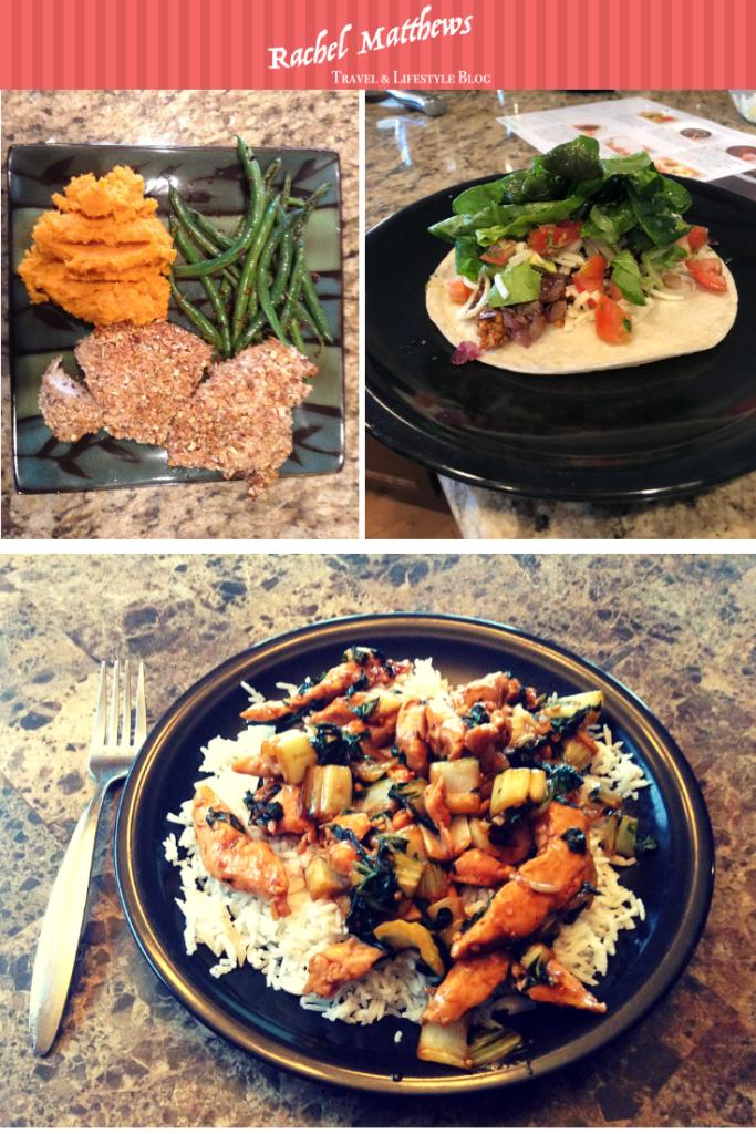 hellofresh-prepared meals