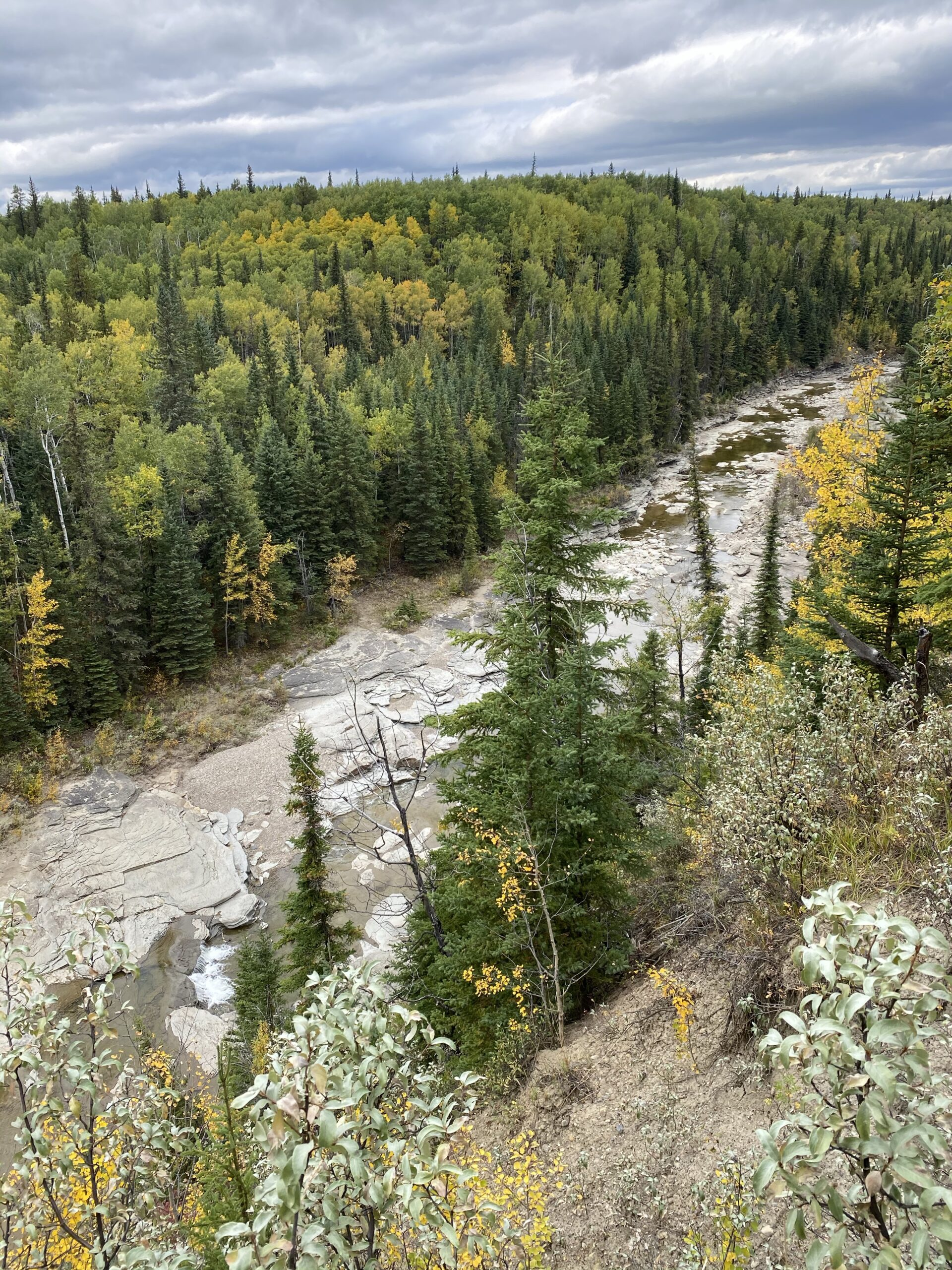 viewpoint of Red Willow Creek