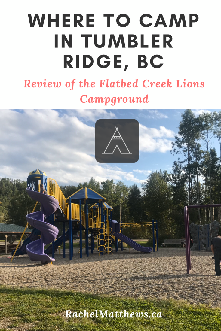 The best Tumbler Ridge Camping - Lions Flatbed Creek Campground!