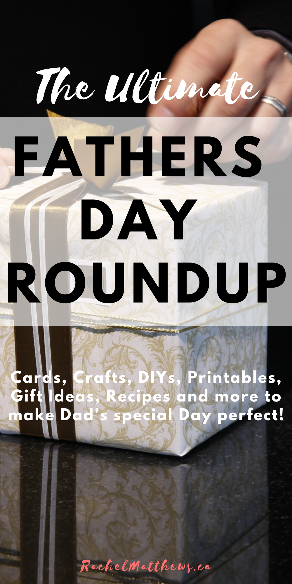 The ultimate father's day roundup! Cards, crafts, DIY's, printables, gifts, and recipes for dads special day.
