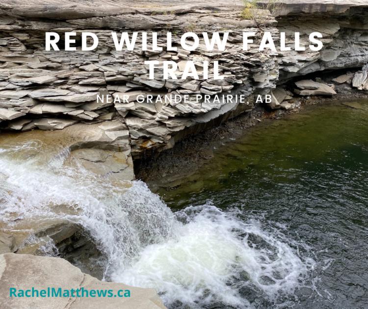 Red Willow Falls Trail near Grande Prairie, AB